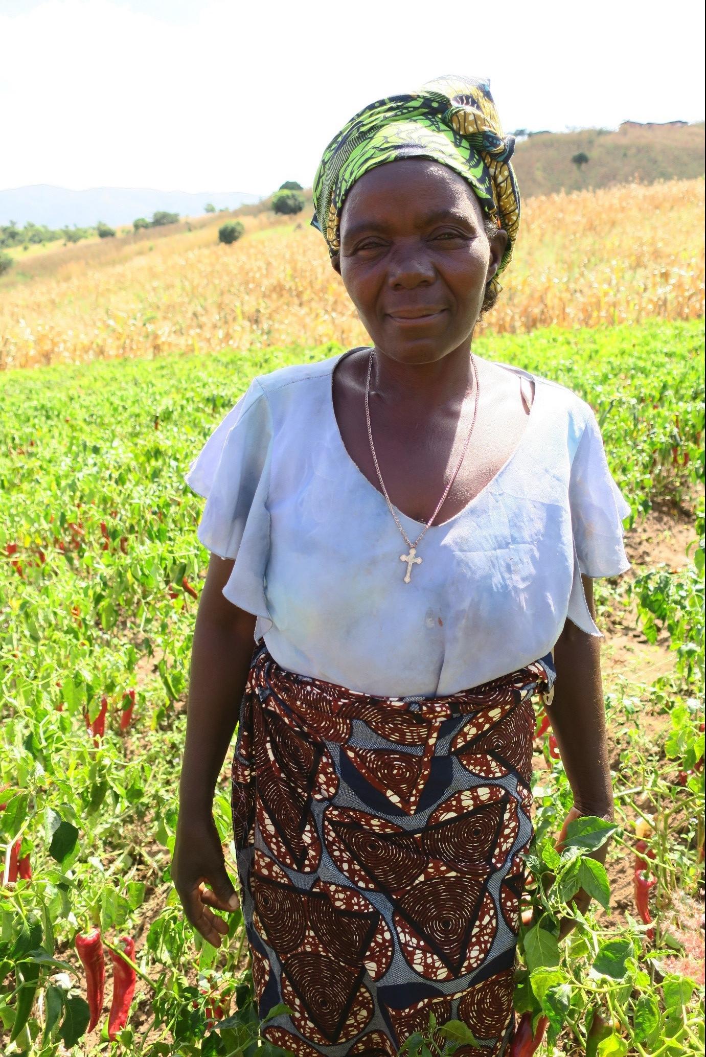 Paprika farmer